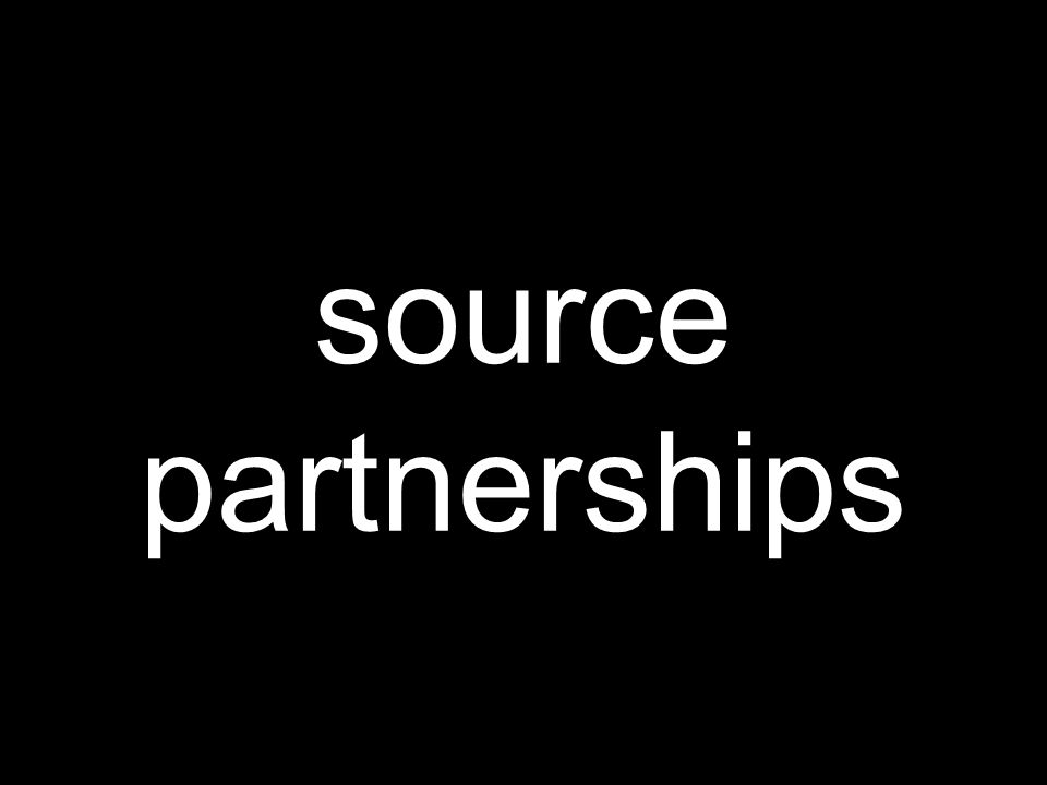 source partnerships