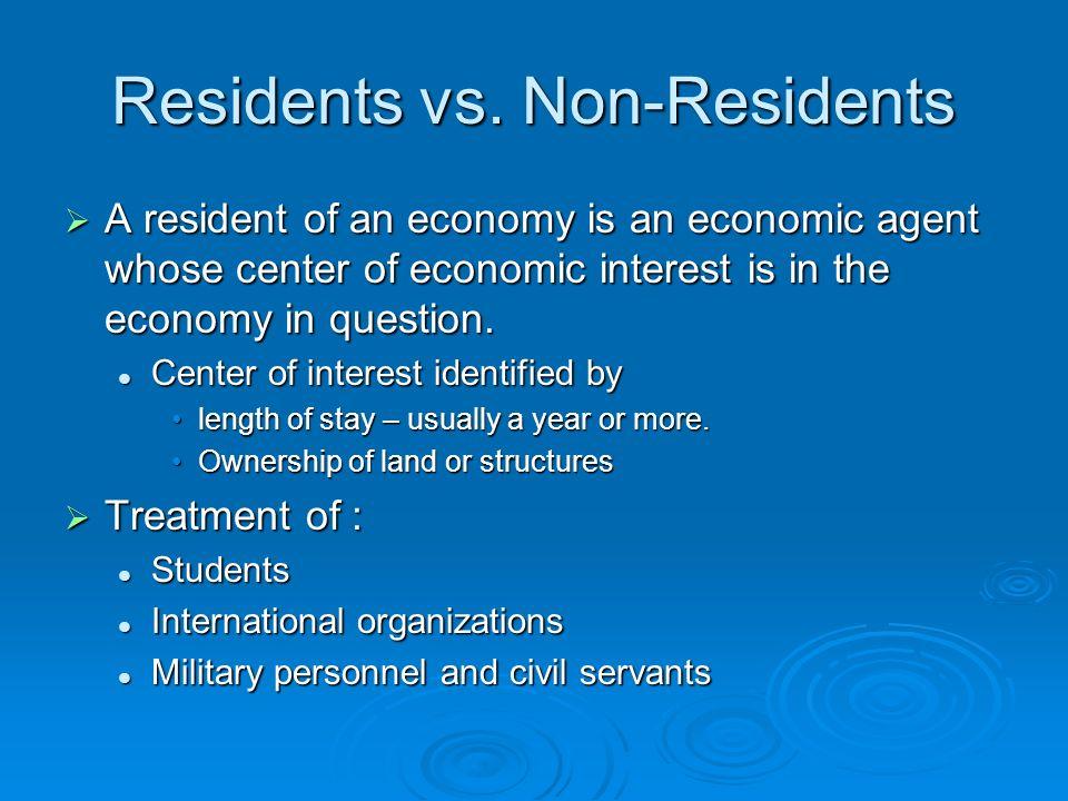 Residents vs.