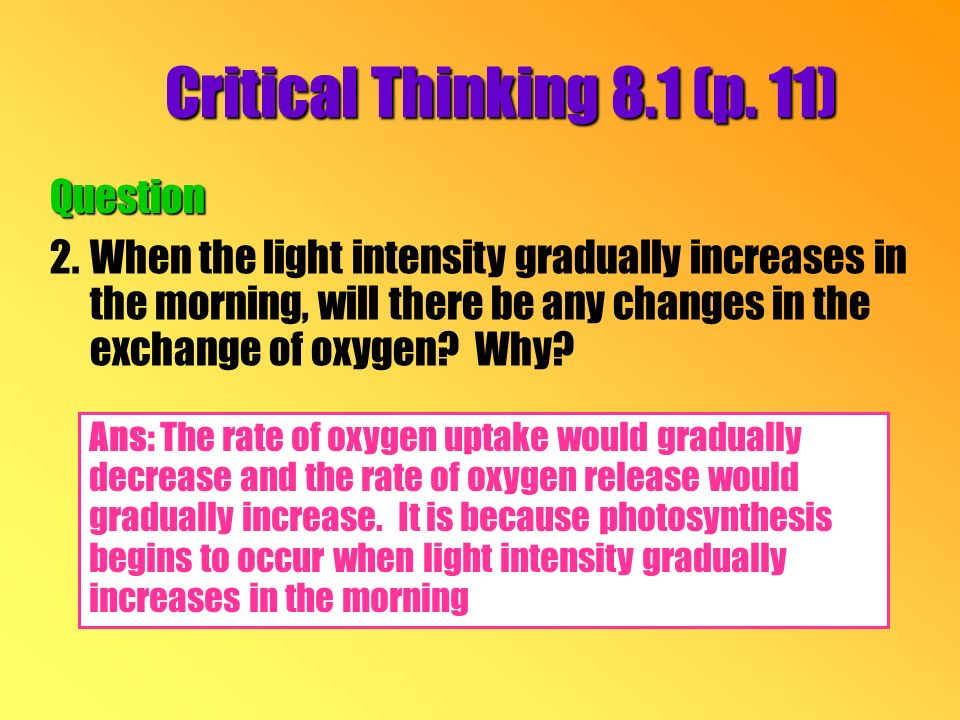 Critical Thinking 8.1 (p.