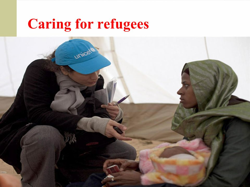 Caring for refugees
