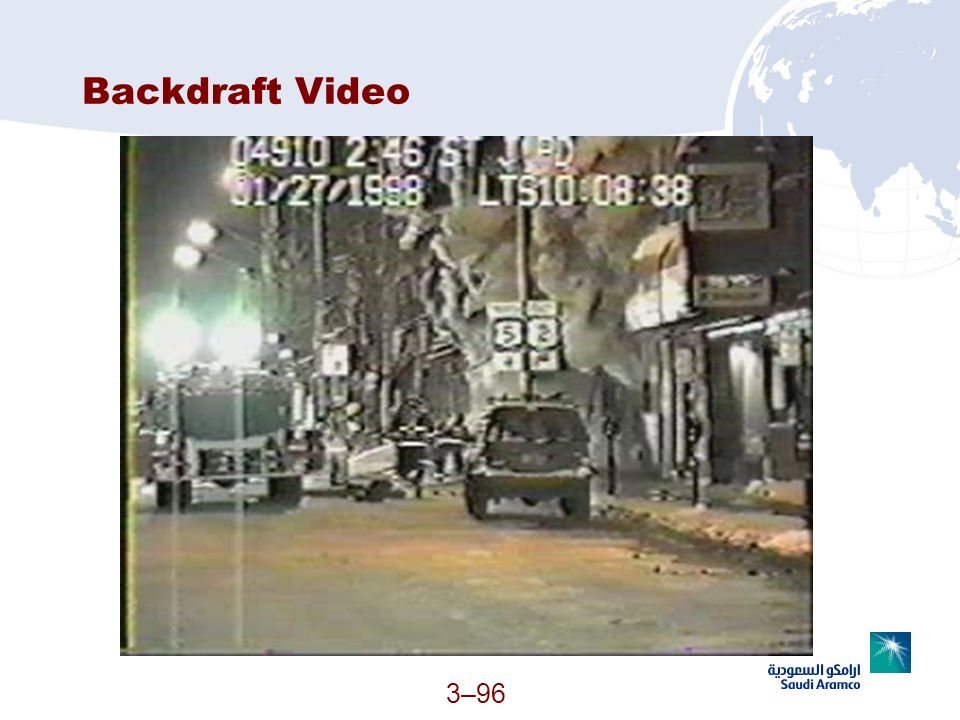 3–96 Backdraft Video