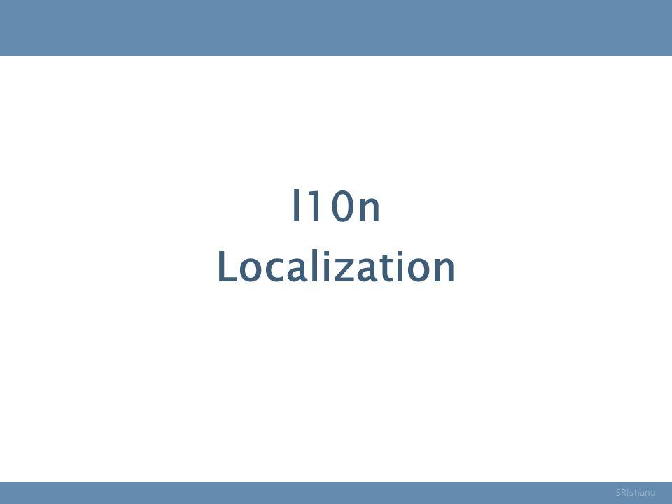 l10n SRIshanu Localization
