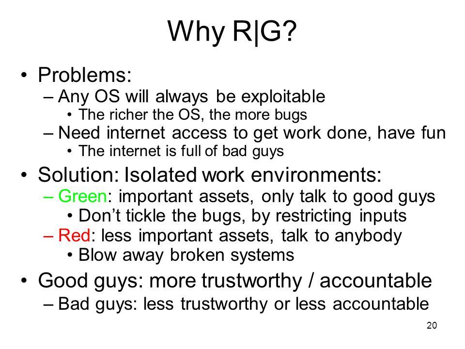 20 Why R|G.