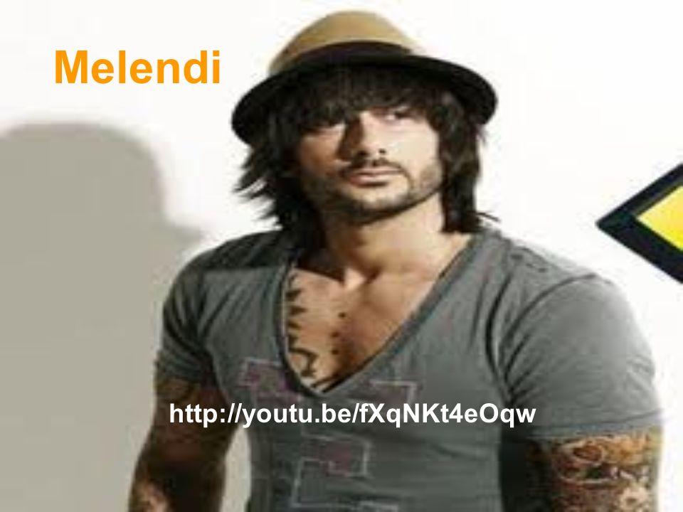 Melendi http://youtu.be/fXqNKt4eOqw