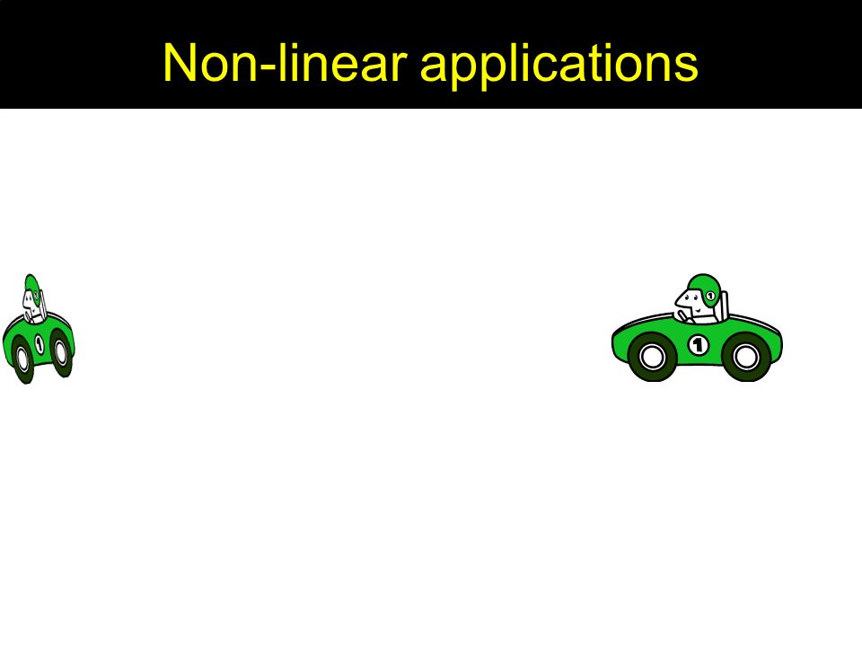 Non-linear applications