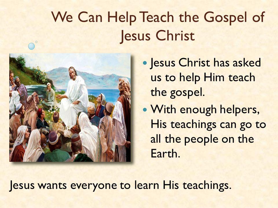 Just Like Ammon, We Can Help Teach the Gospel of Jesus Christ The Story of Ryan & His Teacher