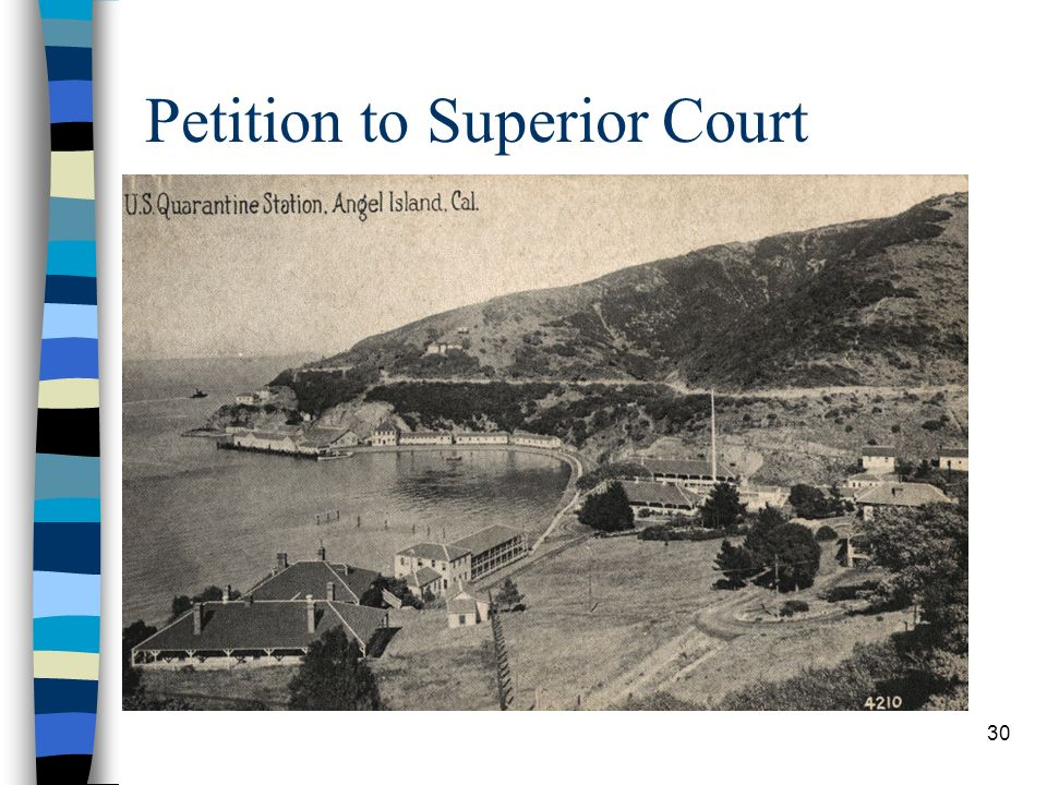 30 Petition to Superior Court