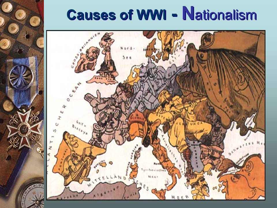 Causes of WWI - N ationalism