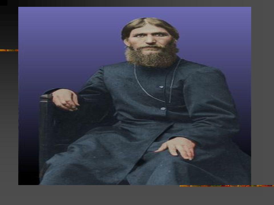Chapter 18: The Eastern Front Rasputin: A priest who caused great turmoil in the Russian Government. He appointed corrupt leaders and undermined milit