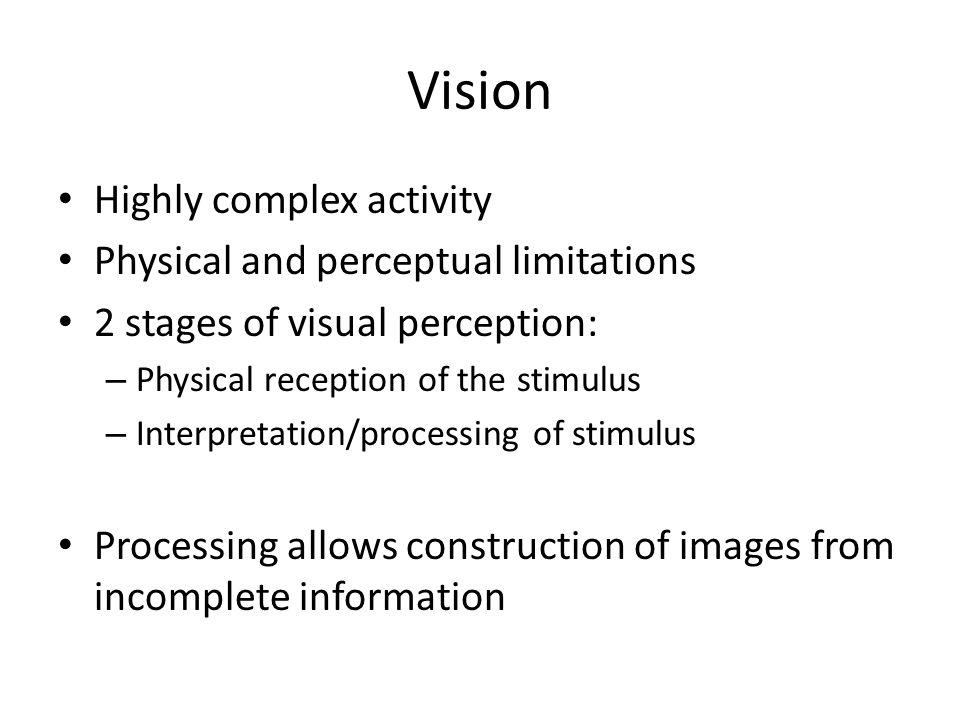 Context Illusions