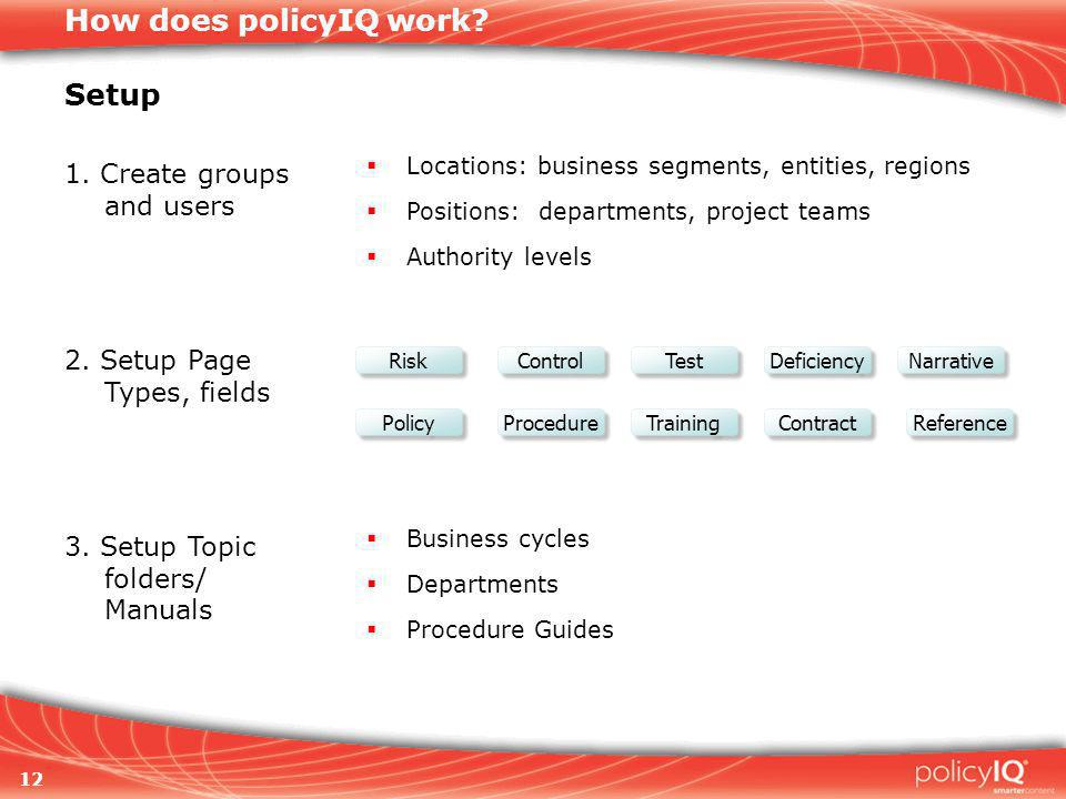 12 How does policyIQ work.