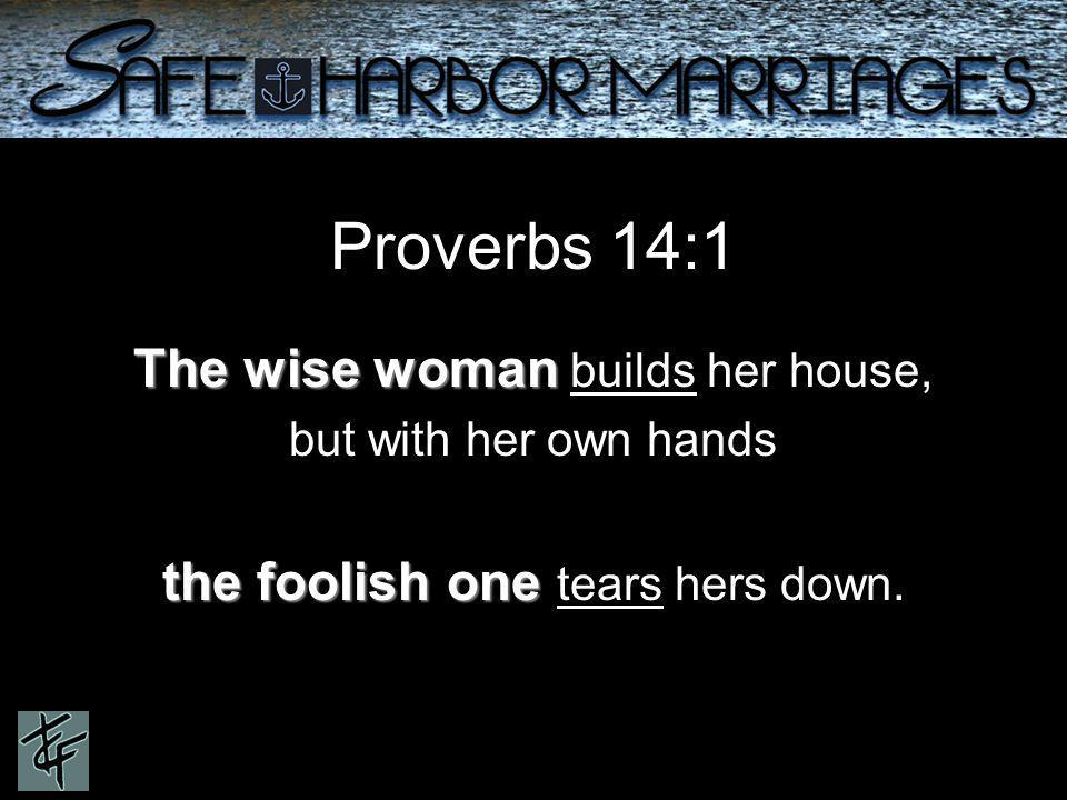 Proverbs 8:1 Does not wisdom call out? Does not understanding raise her voice ?