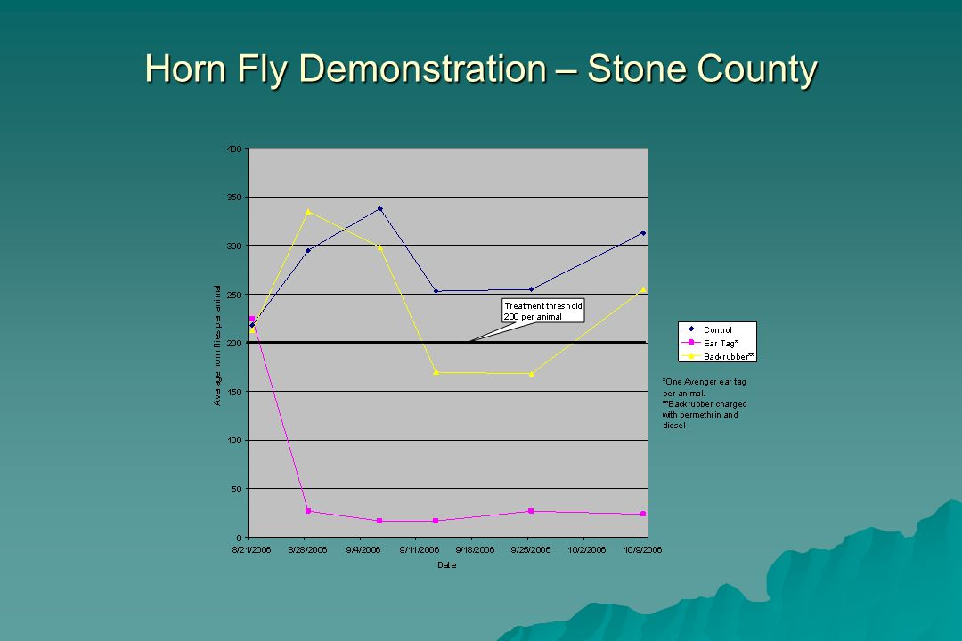 Horn Fly Demonstration – Stone County