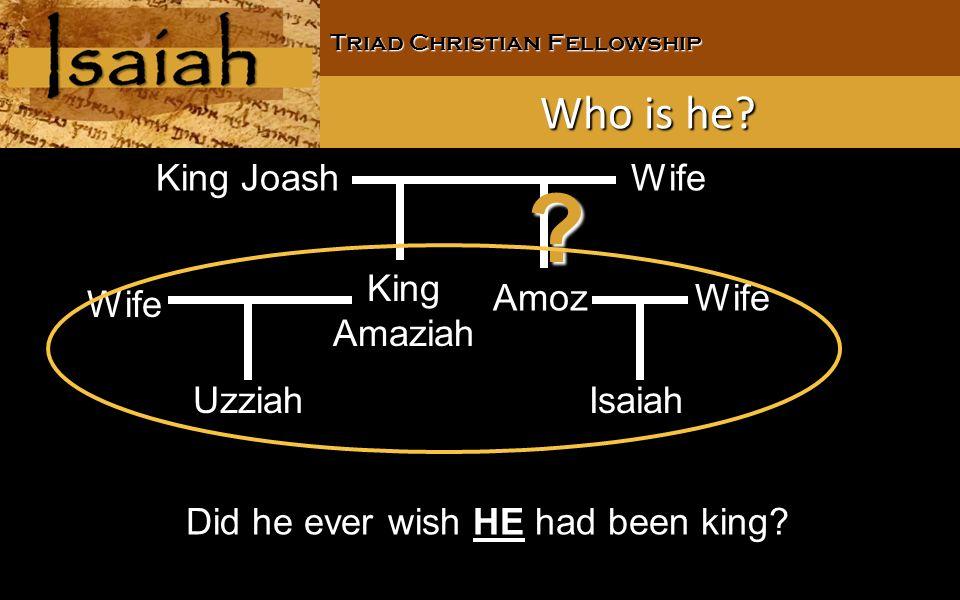 Triad Christian Fellowship Who is he.