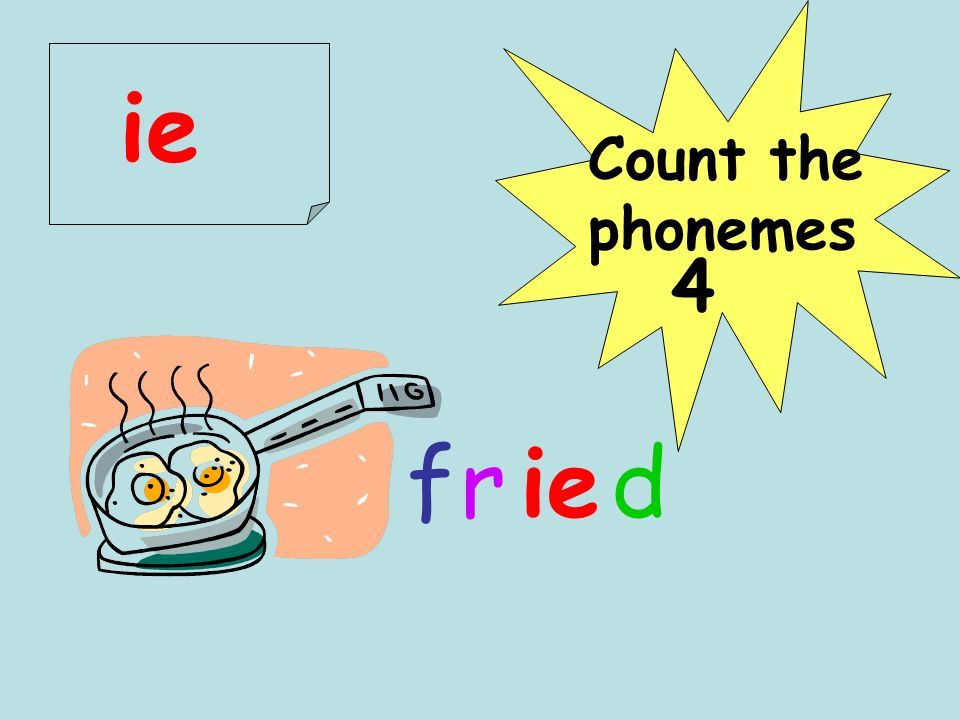 cd 4 r Count the phonemes