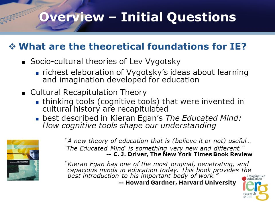 What are the theoretical foundations for IE.