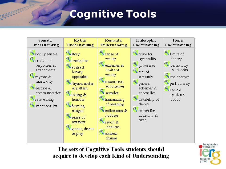Cognitive Tools