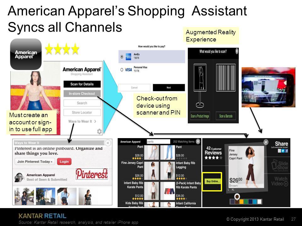 © Copyright 2013 Kantar Retail International Retailers Apart of U.S.