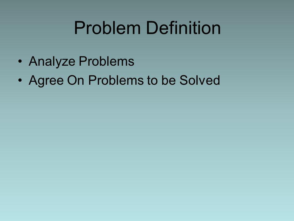 Decision Making Establish Decision Making Criteria Develop Action Alternatives Evaluate Alternatives Decide on a Plan