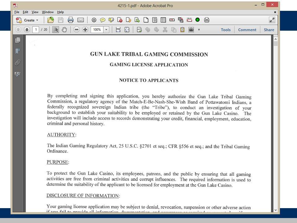 Licensing Database 60