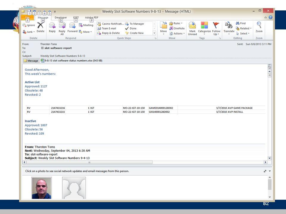 Compliance Database 82