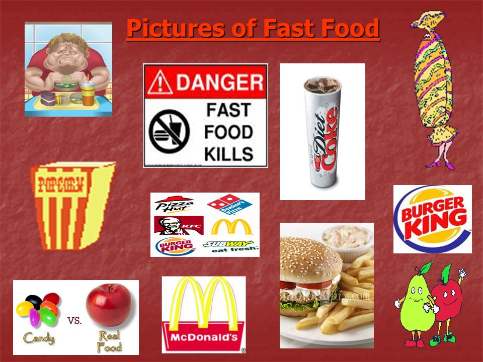 Fast food is not Bad if not eaten frequently, however, when consumed much to often, there are health problems, financial issues, and possibly the loss quality of family time.