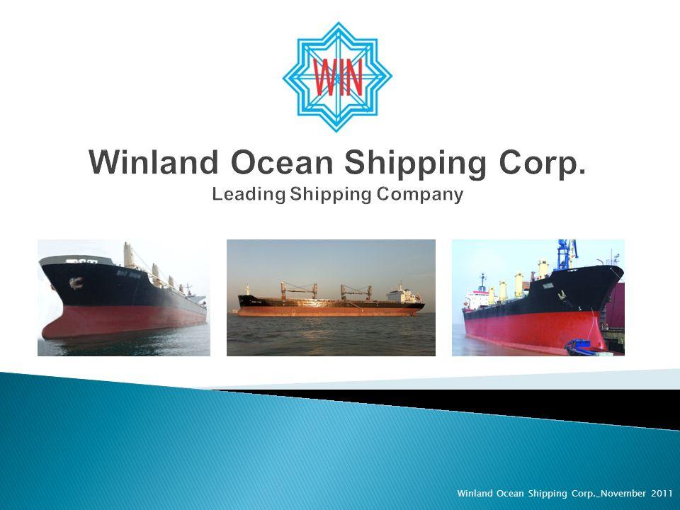 Winland Ocean Shipping Corp._November 2011