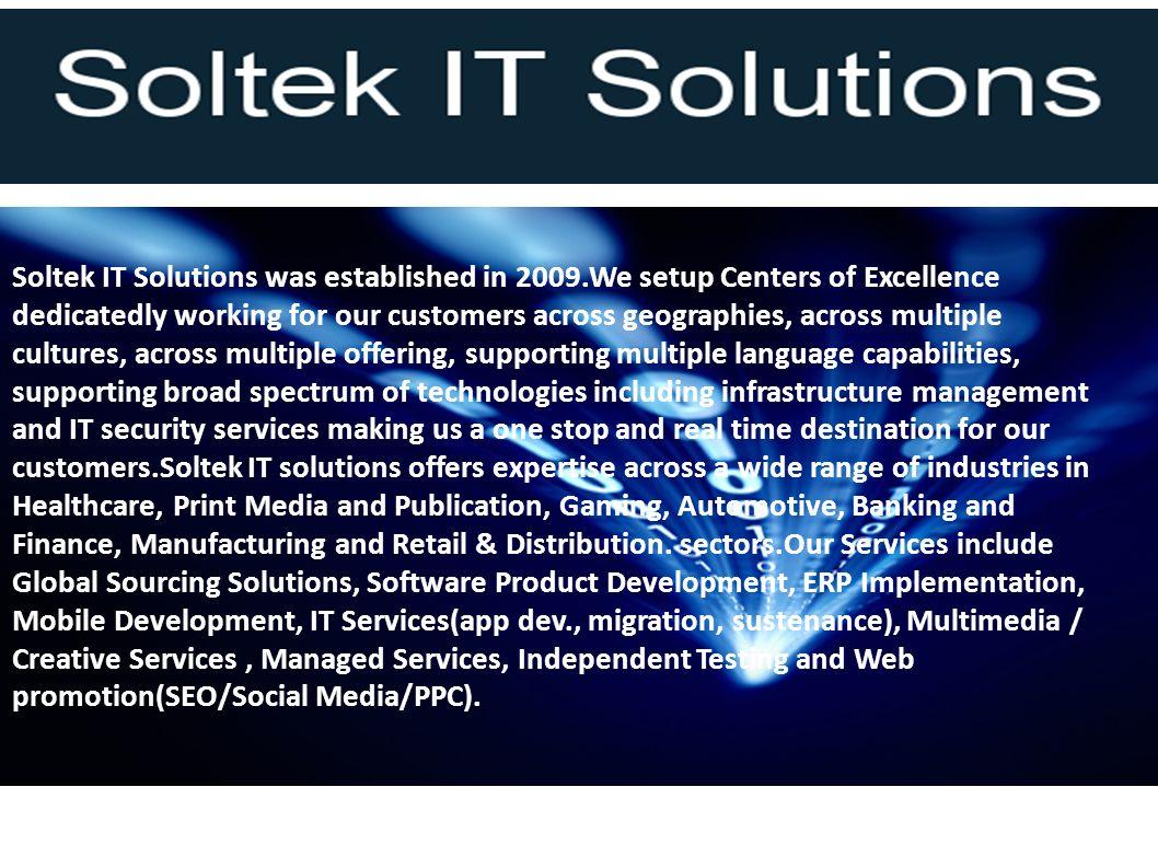 Our Services ; IT Services : Application development,maintenance,SOA,web services Mobil application Development : Apple,Android,Windows Mobile,Blackberry.