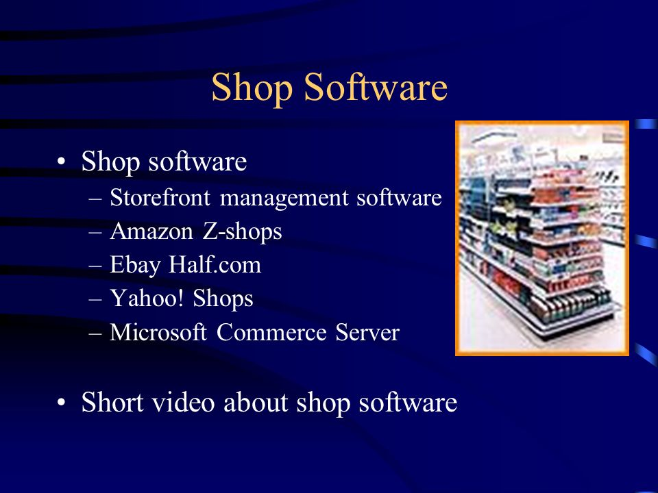 Portal Software Portal software –Yahoo.