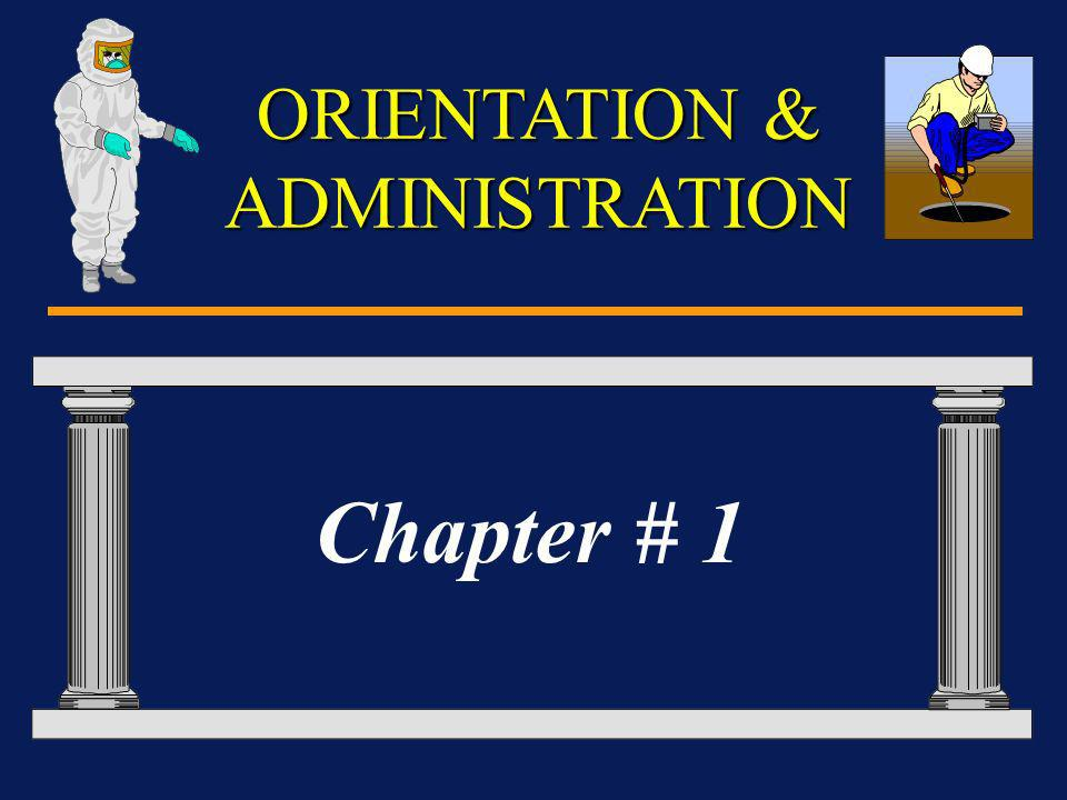 Administrative Details Take the exam after each chapter - five (5) questions.