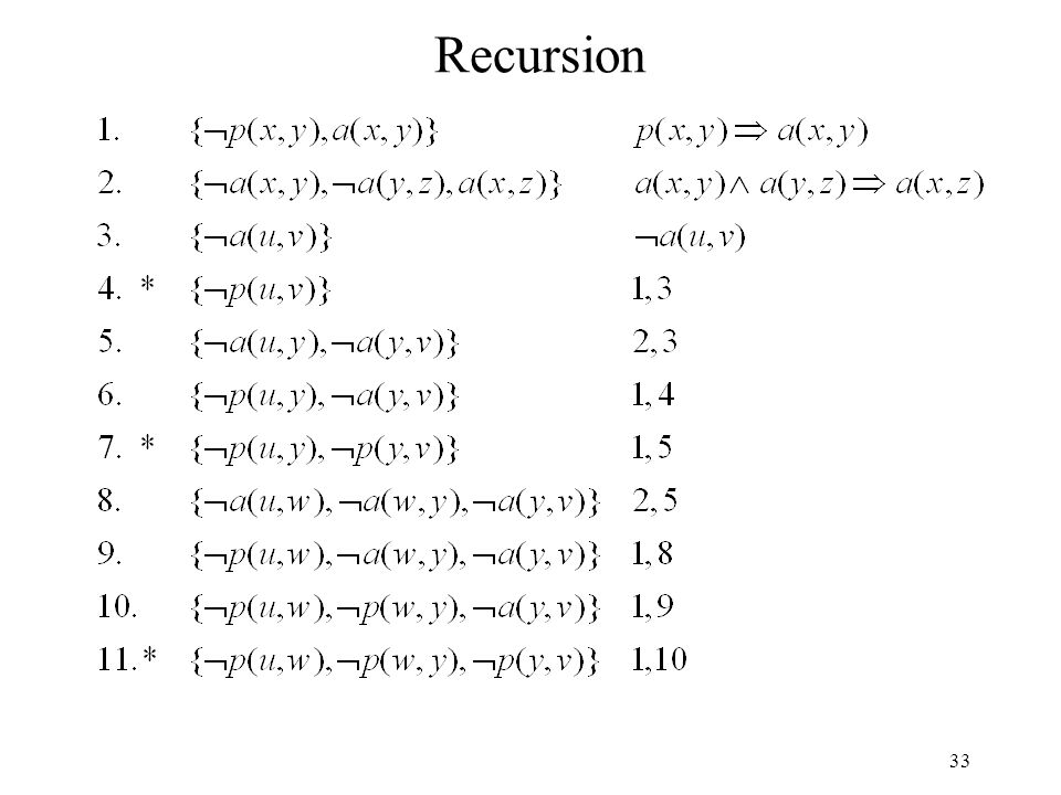 33 Recursion