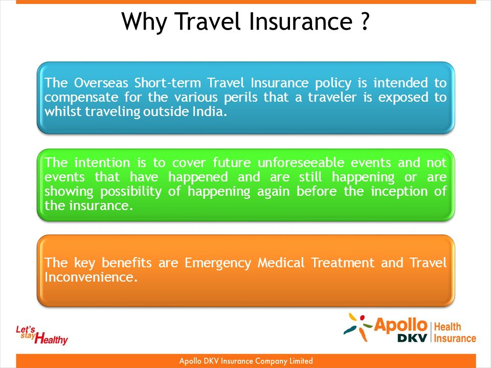 Why Travel Insurance .