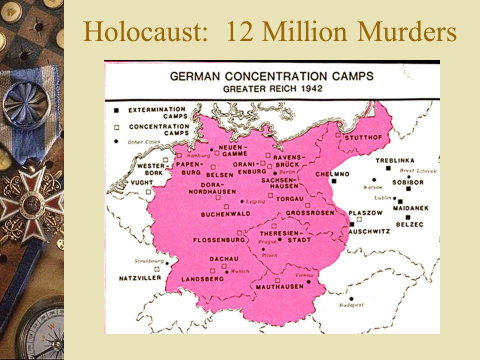 Holocaust: 12 Million Murders