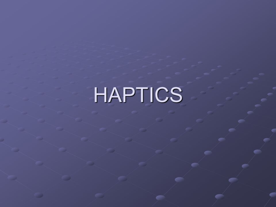 Ray based The generic probe of haptic device is modeled as a line segment.