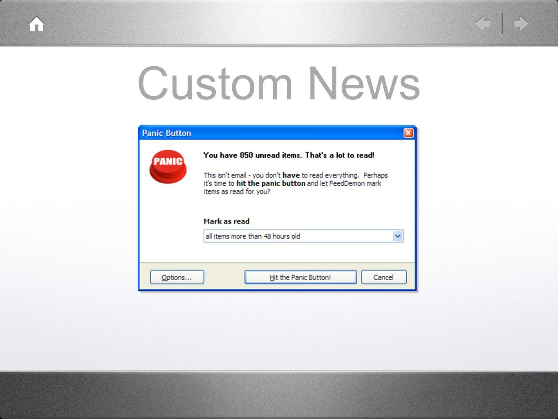 Custom News