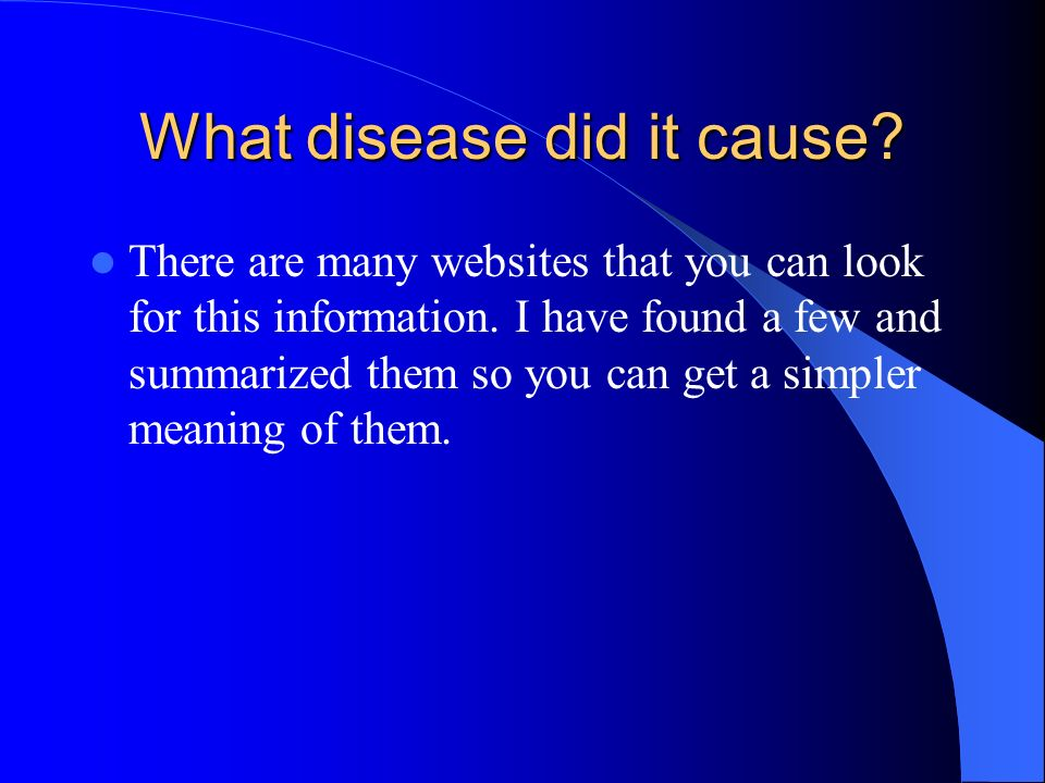 There are many websites that you can look for this information.