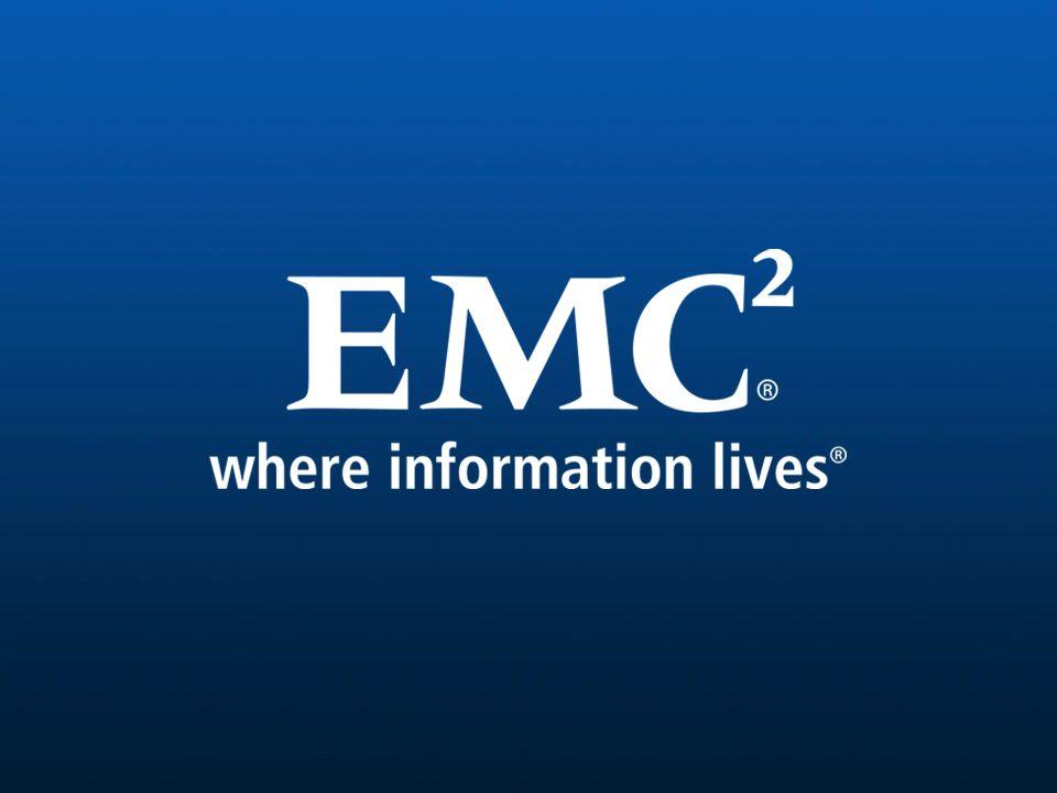 53 EMC CONFIDENTIALPARTNER USE ONLY