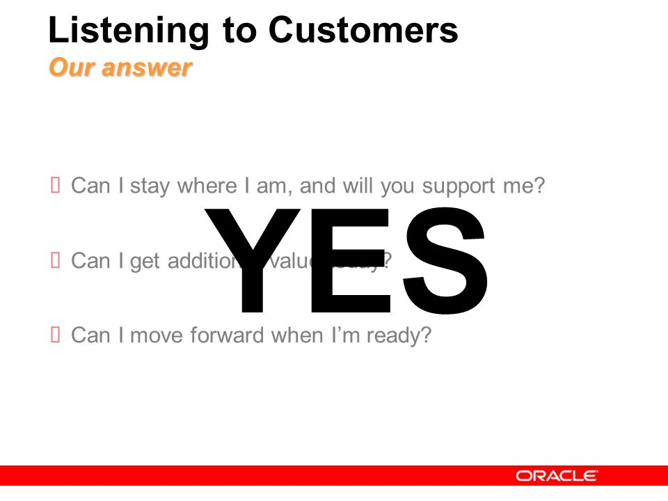 4 Moving Forward Listening to Customers Moving Forward Carry forward Functionality Reduce Lifecycle Costs