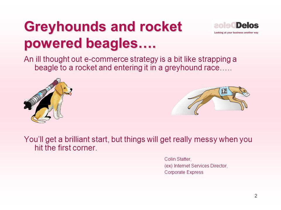 1 IT Strategy – a greyhound or a rocket powered beagle? Rod Clarke
