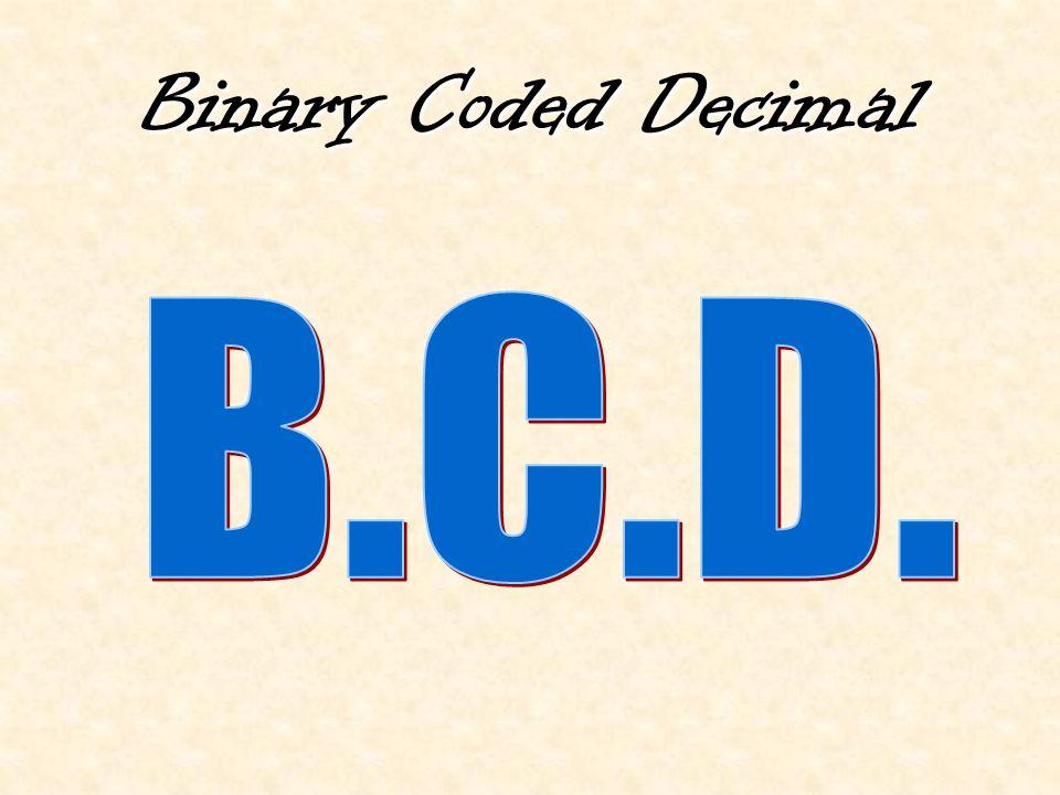 Binary Coded Decimal
