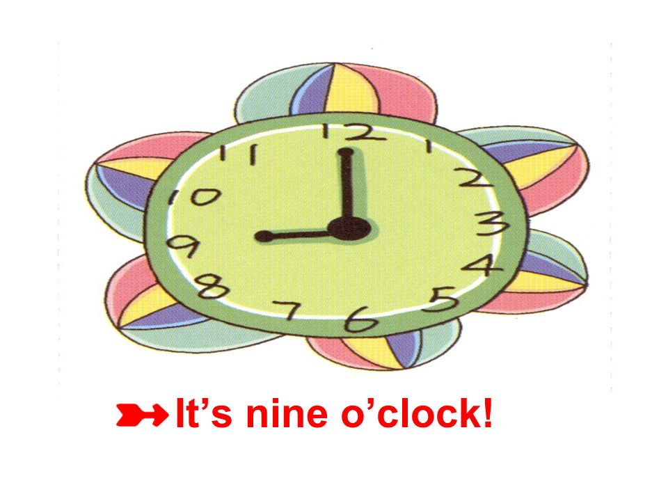 Its eight oclock!