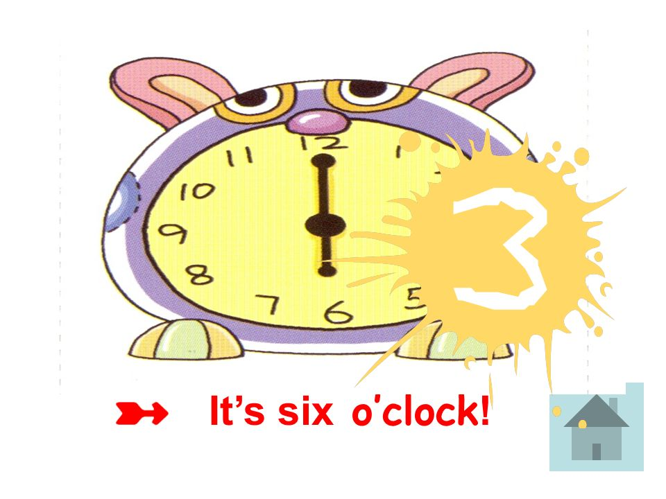 Its four oclock !