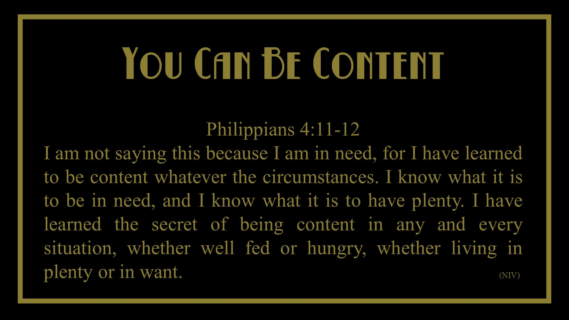 You Cant Take It With You Do Not Worry Matthew 6:31-34 So do not worry, saying, What shall we eat.