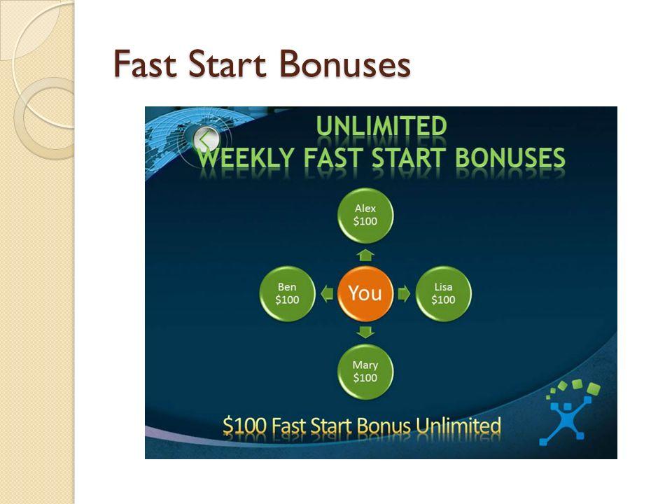 Fast Start Bonuses