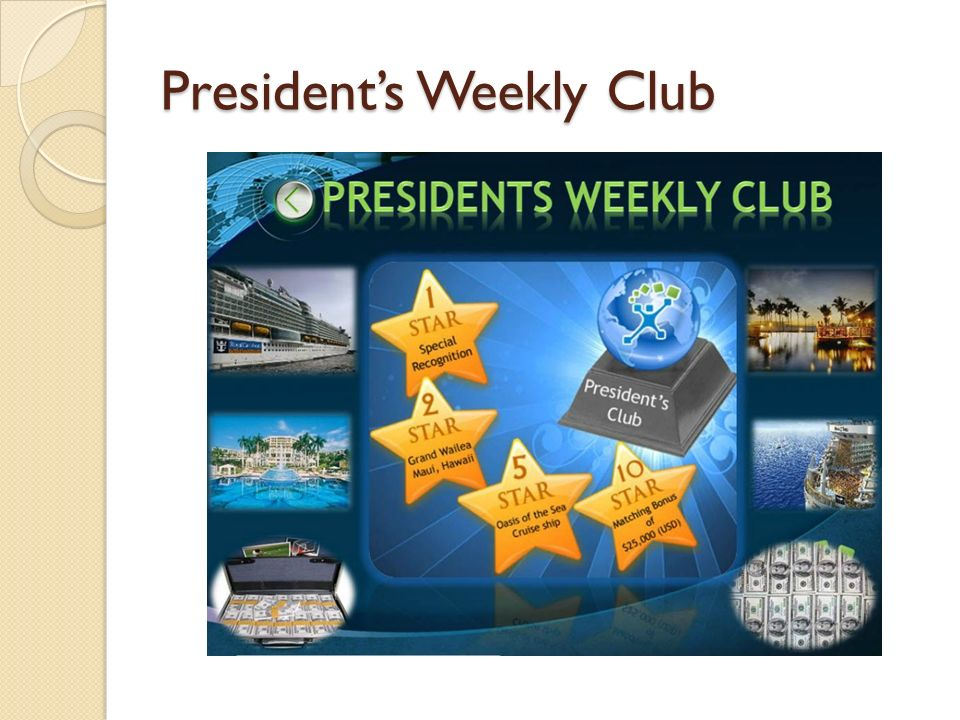 Presidents Weekly Club