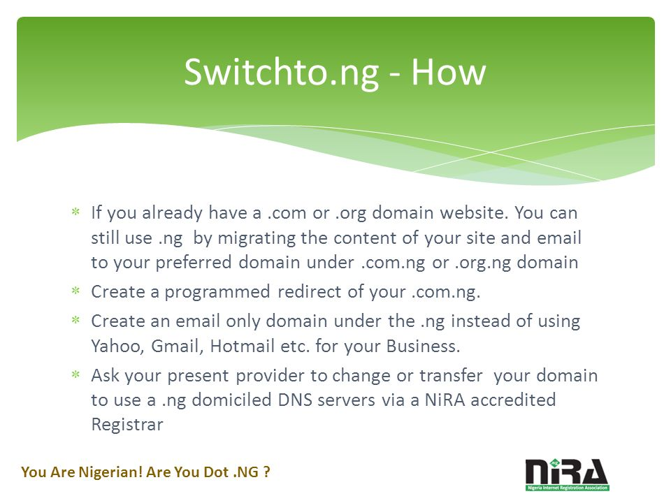 If you already have a.com or.org domain website.