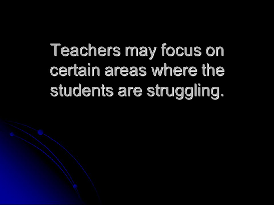 Benefit us: use data to target student needs.