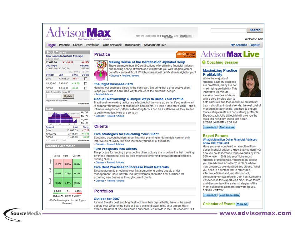 www.advisormax.com