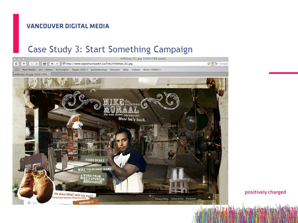 Case Study 3: Start Something Campaign