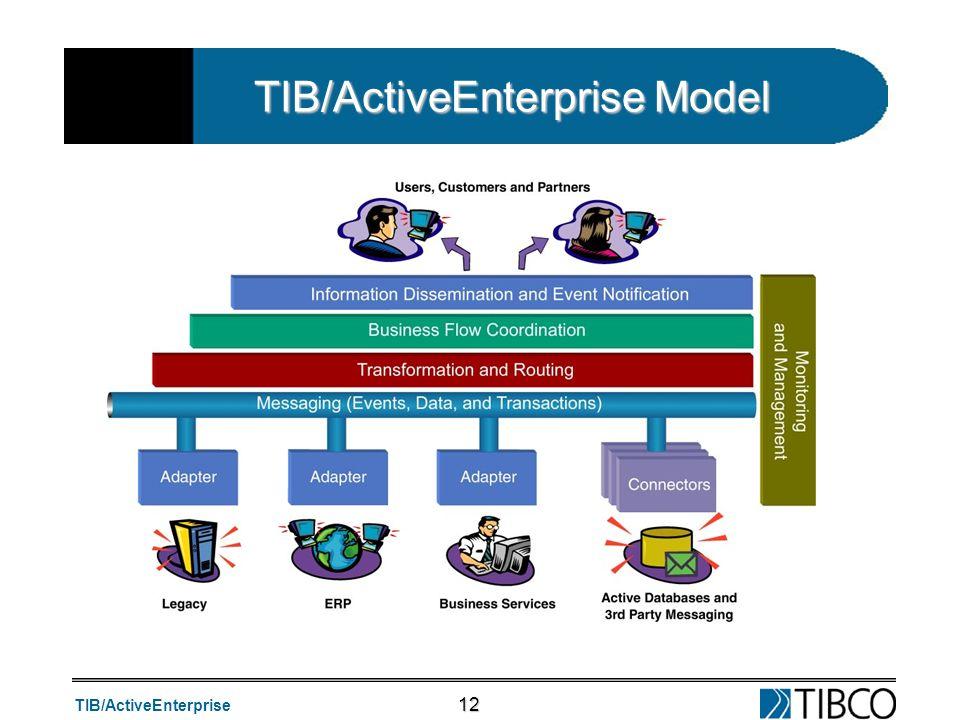 TIB/ActiveEnterprise 12 TIB/ActiveEnterprise Model